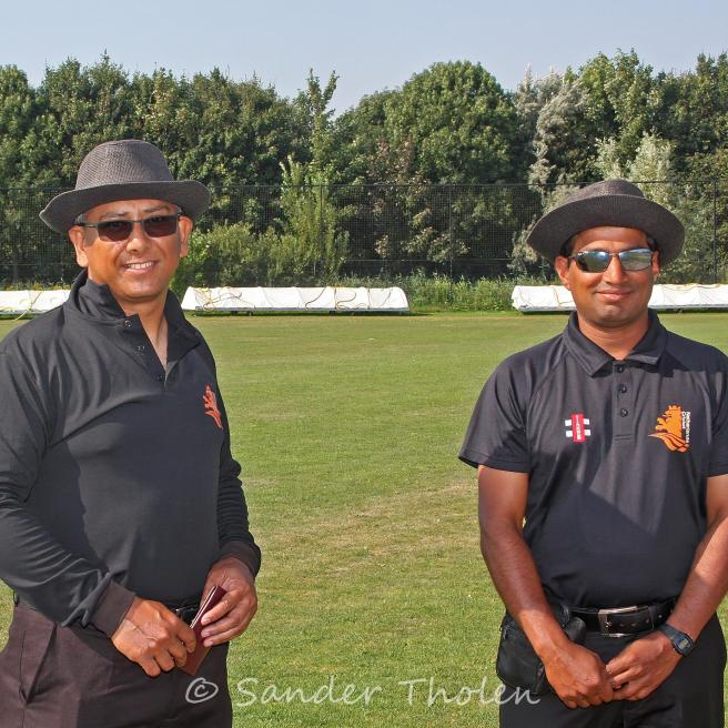 Today's Umpires: Deepraj Das and Jnamesh Kolli